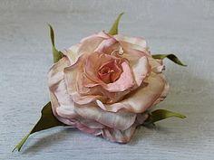 """Делаем распустившуюся розу """"Paris"""" из фоамирана - Ярмарка Мастеров - ручная работа, handmade"""