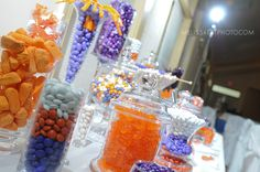 clemson wedding decor