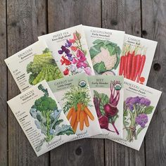 """""""It's time to start sowing seeds for winter harvest! Pick your favorite cool season veggies from @botanical_interests in the shop and check out our blog for tips! #linkinbio"""" - orchard.nursery.and.florist (Instagram)"""