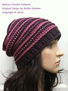 Bubnut Crochet Patterns : Crochet hat patterns, Hat patterns and Crochet hats on Pinterest