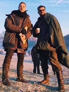 These are my real real friends. That's why I will forever make fun of them and criticize nearly every decision they will ever make. The Last Kingdom Cast, Uhtred De Bebbanburg, Alexander Dreymon, Adventure Novels, Norse Mythology, Movie Costumes, Real Friends, Memes, Favorite Tv Shows