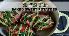 Sweet potatoes (well, technically yams) are one of my favorite foods. I eat them as often as I can. Imagine perfectly baked sweet potatoes loaded with deliciously spiced ground meat, avocado, tomato, and cilantro. Yes, that's what's for dinner tonight at our house. My kids love stuffed baked sweet potatoes. It's fun to load them …