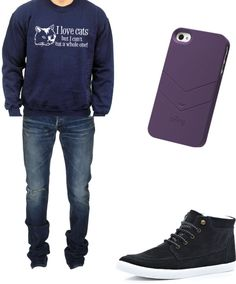 """boyfriend"" by leticia-melo-1 ❤ liked on Polyvore"