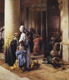 The Hour of Prayer, Ludwig Deutsch