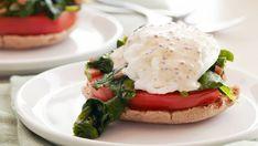 Photo of Kale and Tomato Eggs Benedict