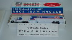 Richard Petty 1992 STP Race Team Hauler 1/64 Transportation Truck