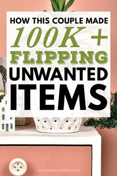How this couple made over in a year flipping unwanted items. Make Money Online, How To Make Money, Horse Care Tips, Making Extra Cash, Thrift Store Finds, Home Based Business, Work From Home Jobs, Fleas, Extra Money