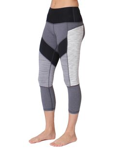 Reflective Run Tone Leggings - Black – 90 Degree by Reflex ...