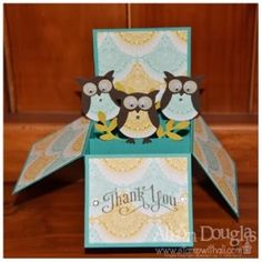 Card in a box Stampin' Up!