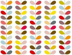 Orla Kiely colours  Love Orla and the style so I decided to be inspired on a budget.