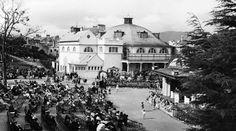 Tour Scotland Photographs: Old Photograph Pavilion Dunoon Scotland