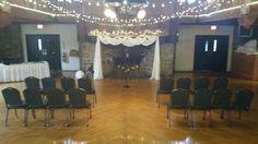 #gunstockmtn  Main Lodge wedding ceremony and reception
