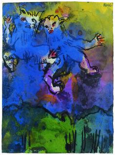 Emil Nolde, 'Frühmorgenflug,' 1938-1940, Louisiana Museum of Modern Art