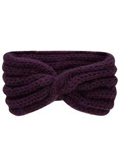 twisted knit headband