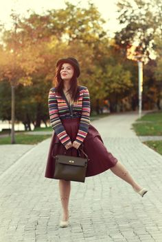 La  Bohème: Midi skirts and hats - autumn must-haves