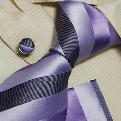 Purple tie for men birthday present man handmade silk neckties cuff links handkerchief set H5059 Y, http://www.amazon.com/dp/B003AHWK6M/ref=cm_sw_r_pi_dp_mfznqb1XMD233