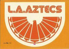 1979 Topps NASL #11 Los Angeles Aztecs Logo Front