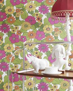 The Eco Happy wallpaper collection has some fab retro designs!