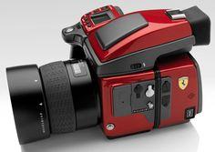 câmera da Hasselblad H4D em parceria com a Ferrari