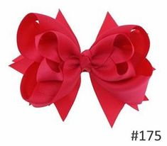 Your Bows Girls Solid Hair Bows Hair Clips Ribbon Bows Hairpins Children Headwear Fastion Hair Accessories - Products - Big Hair Bows, Bow Hair Clips, Ribbon Bows, Grosgrain Ribbon, Christening Gowns Girls, Hot Pink Roses, Baby Girl Princess, Wedding Hair Accessories, Head Accessories