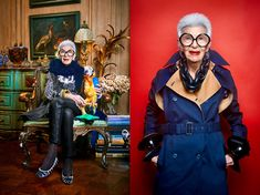 Bubbie's Advice by Fashion Icon Iris Apfel - Jewish Latin Princess 50 Y Fabuloso, Bright Lips, Environmental Portraits, Advanced Style, Costume Institute, New Career, Popular Culture, Fashion Plates, All About Fashion