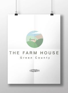 Farm Logo Barn Country Home Real Estate Cottage