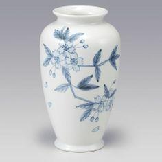 Kutani Porcelain Hana Chirashi Cherry Blossoms Japanese Vase H24 5cm | eBay