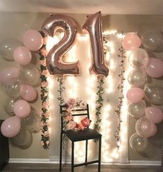 67 Ideas Birthday Party Decorations For 2019 67 Id. 67 Ideas Birthday Party Decorations For 2019 67 Ideas Birthday P 21st Birthday Themes, 21st Bday Ideas, Birthday Brunch, 22nd Birthday, Birthday Table, Birthday Diy, Birthday Balloons, Birthday Parties, Cake Birthday