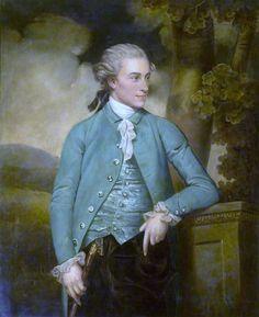 1779 - A beautiful fine portrait of John Mortlock of Cambridge and Abington Hall Great Abington Cambridgeshire - by John Downman