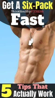 Want to know how to get abs fast? Here you will learn through clean eating, intermittent fasting, and diet tips and tricks to be successful. Six Pack Tips, Get A Six Pack, Best Workout Videos, Workout Videos For Women, Fitness Apparel, Men's Fitness, Health Fitness, Get Abs Fast, How To Get Abs