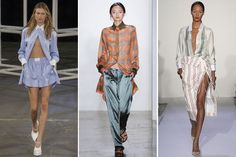 Drei Styles zum nachmachen - angesagte Männerhemden, legere Mode mit Hose oder Rock - lässig, oder?