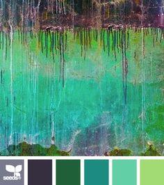 patinaed hues