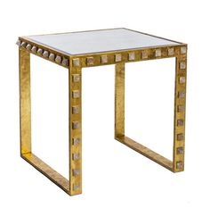 Quartz Stud End Table - Emporium Home