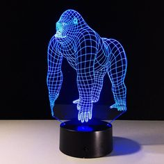 KONG 3D LAMP – 5voltplus