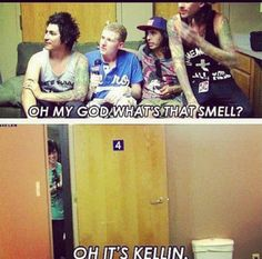 Pierce The Veil & Kellin Quinn :) Lol that interview is funny when Kellin was with them xD