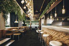 Le restaurant Holy Smoke par le Bureau Bumblebee - Blog Esprit Design