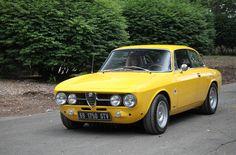 Alfa Romeo 1750 GTV - Yellow Car