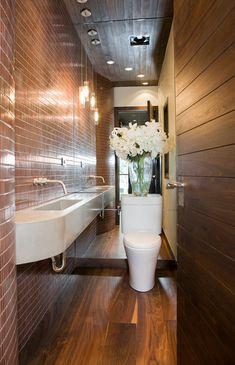 Pequeño cuarto de baño Ideas-31-1 Diseño Kindesign