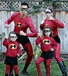 Disfraces familiares y de grupo fáciles de hacer