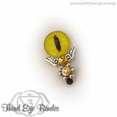 Sauron (yellow) – tribal bindi