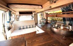 Camper Van Interior Just Married Conversion
