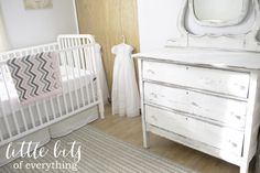 Bright and neutral nursery decor!