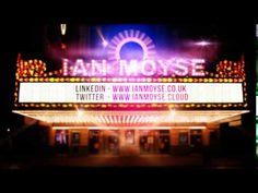 Ian Moyse Cinema Sign Video Cinema Sign, Broadway Shows, Social Media, Signs, Shop Signs, Social Networks, Social Media Tips, Sign