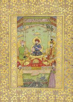 Babur (L), Timur (C) & Humayun (R)