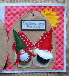 fairies and gnomes quiet book