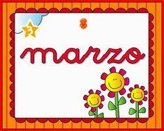 Maestra de Infantil: Carteles para los meses del año. Aula de infantil o Primaria.