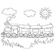 Being a mother would you like to teach your child about trains in the most fun way possible? Then, definitely try these free printable train coloring pages.