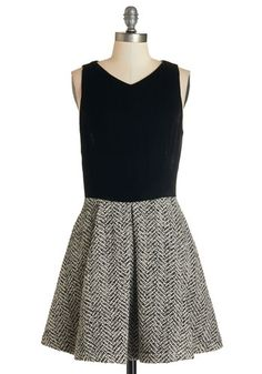 Texture Twist Dress, @ModCloth