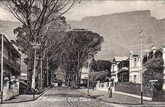 An old picture taken in Oranjezicht, a city bowl suburb of Cape Town. Cape Town South Africa, Out Of Africa, Most Beautiful Cities, Historical Pictures, African History, Old Pictures, Old World, Vintage Photos, Places To Go