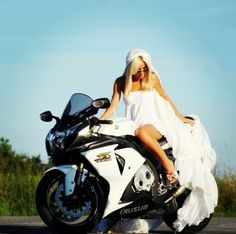 My wedding photo may or may not resemble this.. My white horse